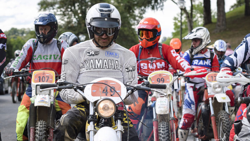 Day one of the ISDE Vintage Trophy - 31st August - Brive, France © Nuno Laranjeira