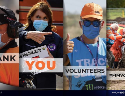 FIM shows its gratitude towards its volunteers